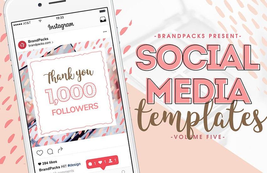 Social Media Templates Vol.5