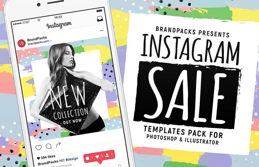 Instagram Sale Social Media Templates