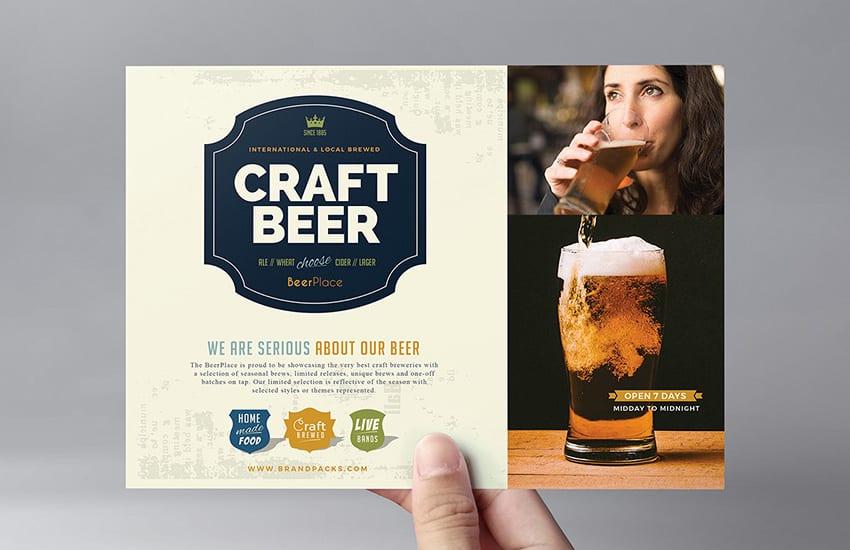 Local Pub Flyer Template
