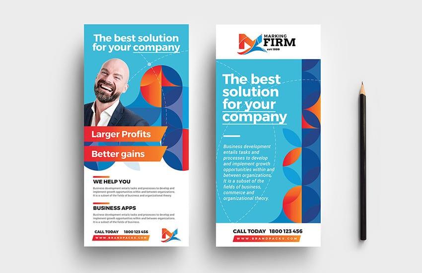 Modern Corporate DL Card Template