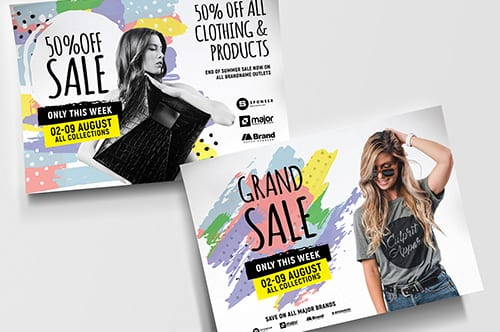 A4 Grand Sale Poster Templates