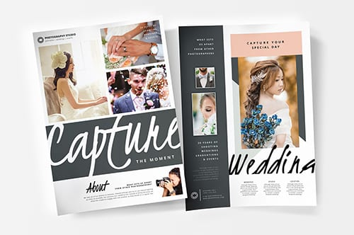 Wedding Photography Poster Template v3