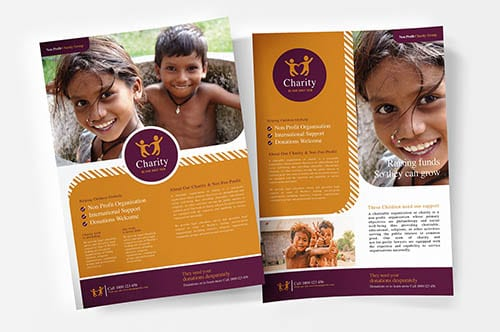 Charity & Non-Profit Templates in PSD & Vector