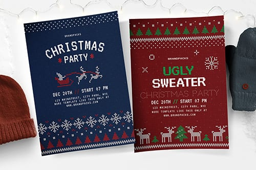 Free Christmas Flyer/Poster Templates