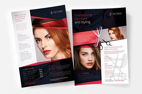 Hair & Beauty Templates in PSD & Vector