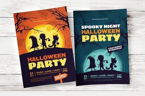 Halloween Flyer / Poster Template