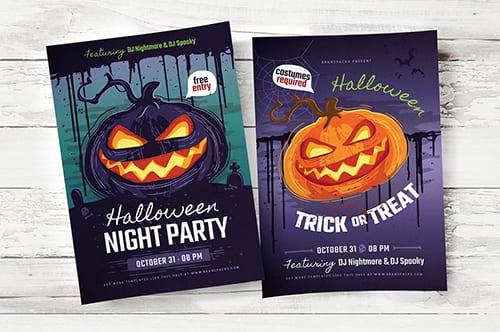 halloween Poster Templates V3