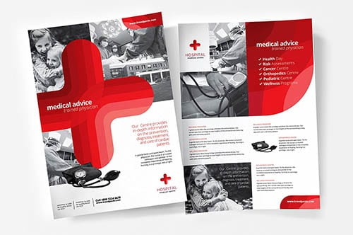 Medical & Healthcare Templates in PSD & Vector
