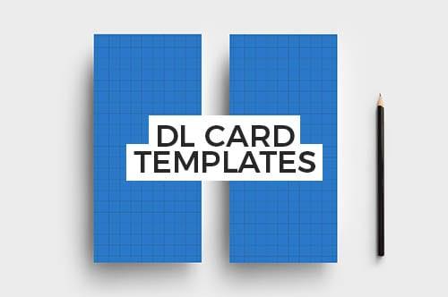 PSD & Vector DL Rack Card Templates