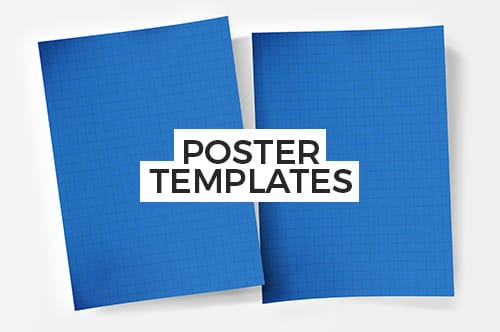 PSD & Vector Poster/Banner Templates