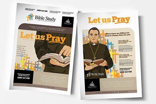 PSD & Vector Religious & Church Templates