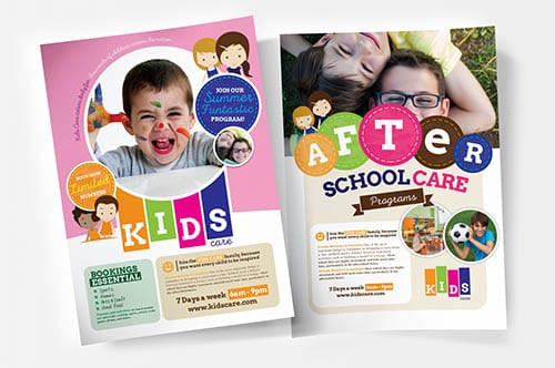 PSD & Vector School & Education Templates