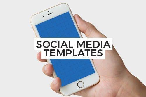 PSD & Vector Social Media Templates