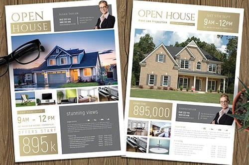 PSD & Vector Real Estate Templates