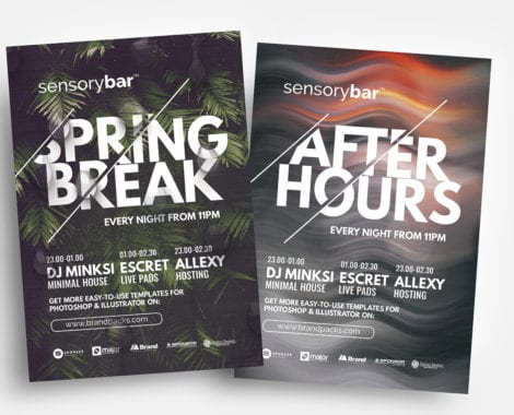 Free Nightclub Flyer Templates in PSD & Vector
