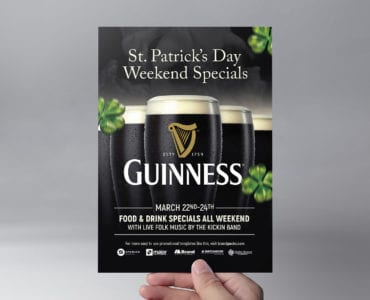 Free Stout Beer Flyer Template
