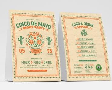 Free Cinco De Mayo Table Tent Templates