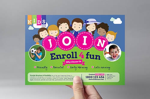 After School Care Flyer Template