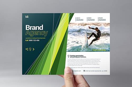 Brand Agency Flyer Template