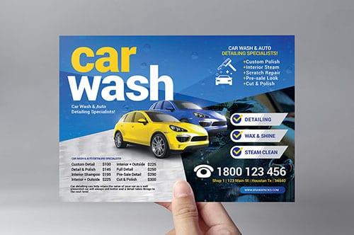 Car Wash Flyer Template v2
