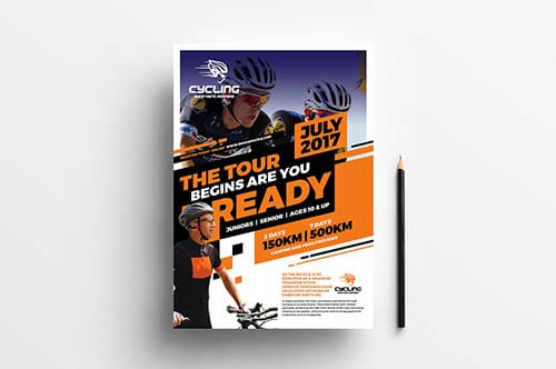 Cycling Poster Template