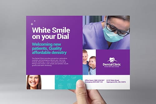 Dental Clinic Flyer Template