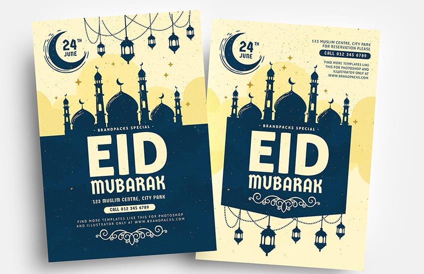 Eid Flyer Templates