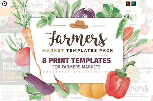 Farmer's Market Templates Pack