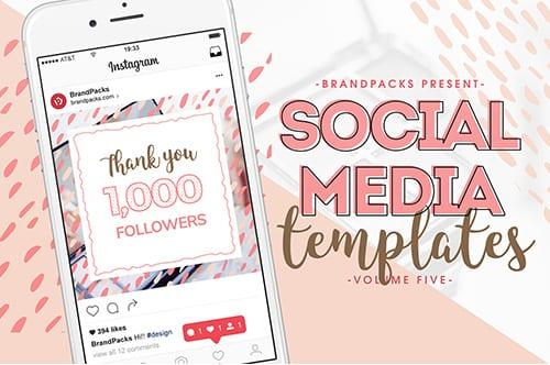 Social Media Templates Pack Vol.5