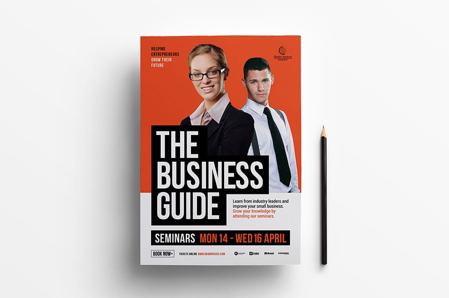 Free Business Seminar Flyer Template