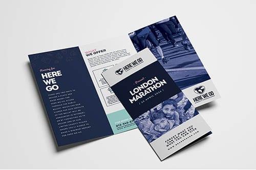 Free Charity Tri Fold Brochure Template