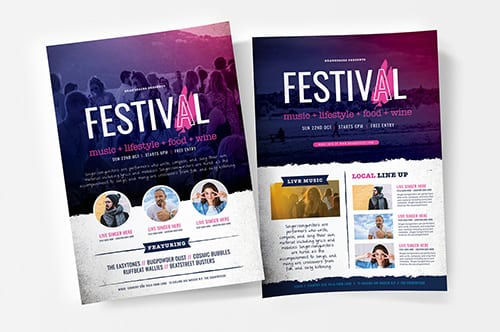 Free Event/Festival Poster Templates