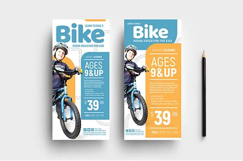 Free Children's Cycling Templates