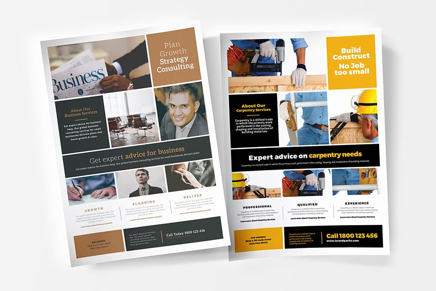 Free Multipurpose Business Flyer Template