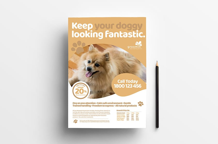 Free Pet Service Flyer Template