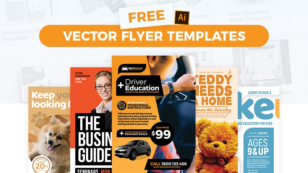 50+ FREE Vector Flyer Templates for Pro Designers