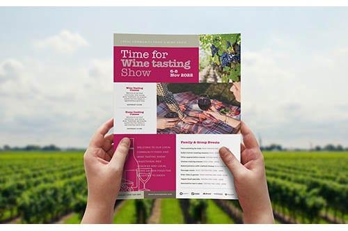 Free Wine Tasting Posters