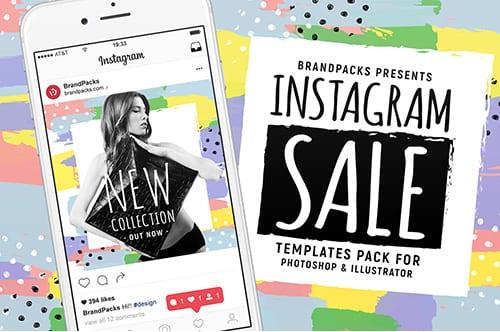 Instagram Sale Templates Pack
