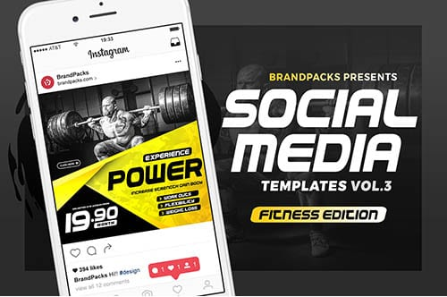 Instagram Templates for Gyms