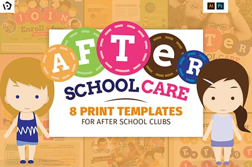 Kids Care Templates Pack