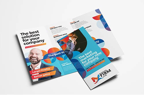 Modern Corporate Trifold Brochure Template v2
