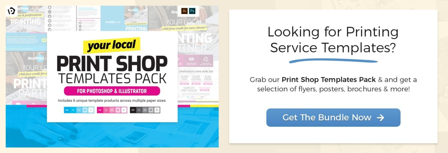 Get the Print Shop Templates Pack
