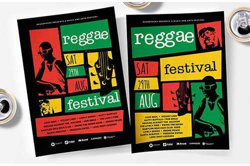 Reggae Flyer/Poster Template