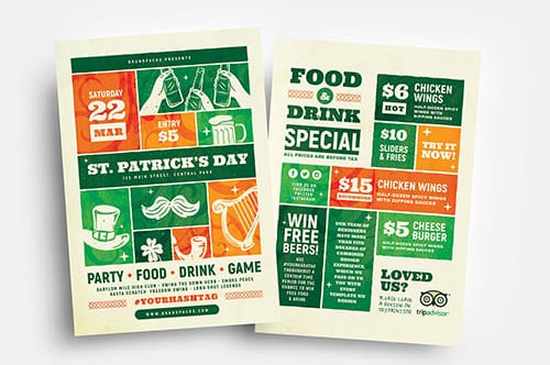 St. Patrick's Day Flyers V3