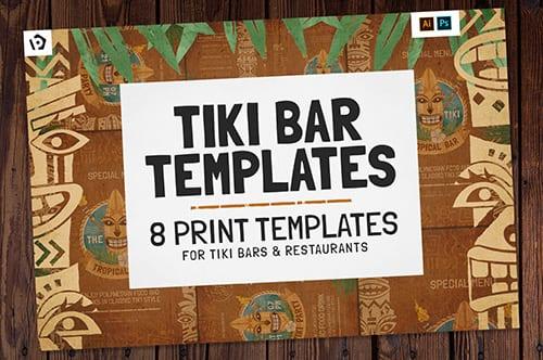 Tiki Bar Templates Pack