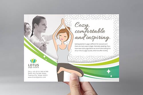 Yoga Studio Flyer Template