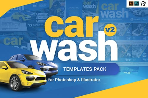 Car Wash Templates Pack v2