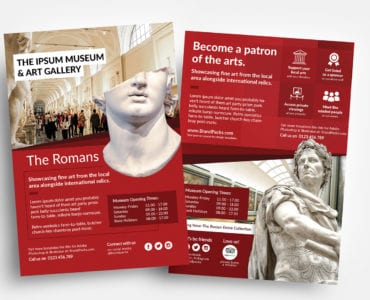 Free Museum Flyer Templates
