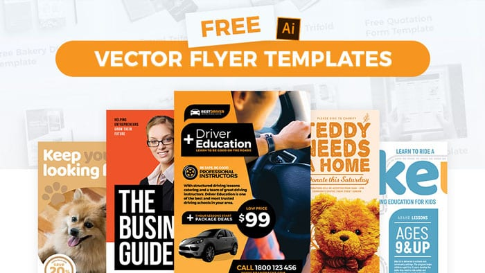 Free Vector Poster/Flyer Templates