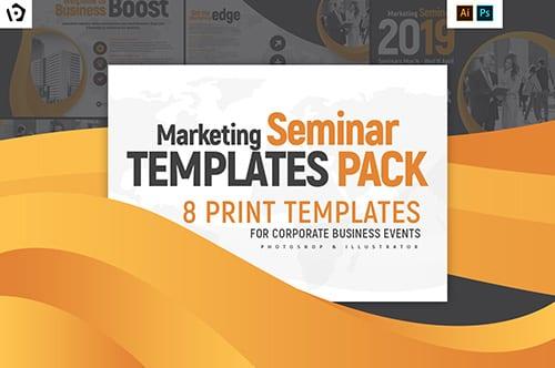 Marketing Seminar Templates Pack